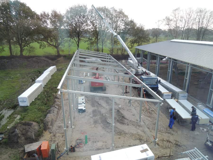 Der Bau von Halle 3 hat begonnen